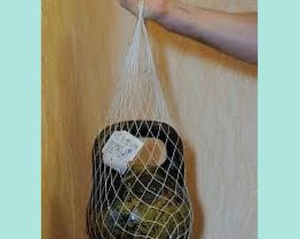 Shopping bag,reusable shopping bag, woven shopping bag, mesh bag,  bag for farmers, reusable  bag, tote bag, bag for onions and garlic