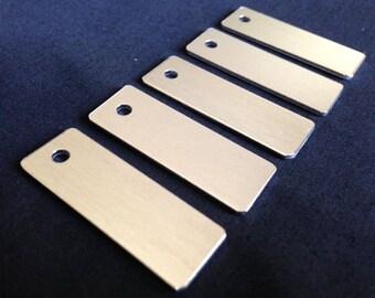14 Gauge - Aluminum Key Chain Stamping Blanks, Aluminum Stamping Blanks, Metal Stamping Blanks, Stamping Blanks Co.