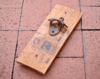 Maker's Mark Bourbon Barrel Bottle Opener