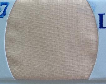 Plain cotton lawn fabric, pale salmon no27