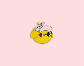 PREORDER // Good Boy Pin, Dog Pin, Cute Pin, Enamel Pin, cute enamel Pin, Dog Lover Gift, Dog Enamel Pin, Dog Lover, Pey Chi