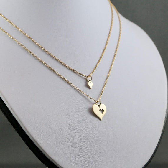 Heart to Heart - Mother & Daughter Necklace Set