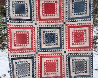 Sweet William - Quilt Pattern by Minick and Simpson for Moda Fabrics