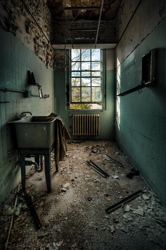 Abandoned Asylum Janitors Closet Urban Exploration Print