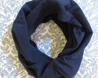 Navy Blue baby scarf,baby girl,toddler,girl scarf,baby boy infinity scarf,children scarves