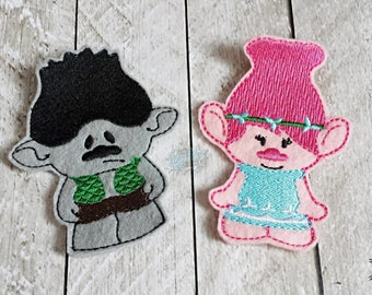 Troll Inspired Finger Puppets, Gnome, Pop, Branch, Sad, Happy, Dance, Puppet, Toys
