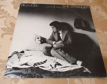 Vintage 1977 LP Record Billy Joel The Stranger Columbia Records JC-34987 Very Good Condition 16704