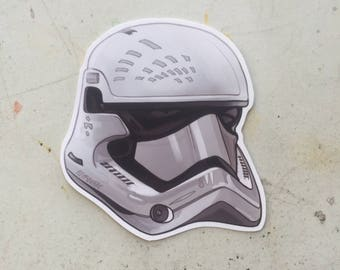 STAR WARS Stormtrooper Force Awakens STICKER!