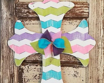 Spring Cross Door Hangers