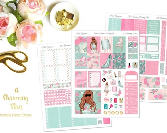 Hello Gorgeous - Printable Planner Stickers - Instant Download