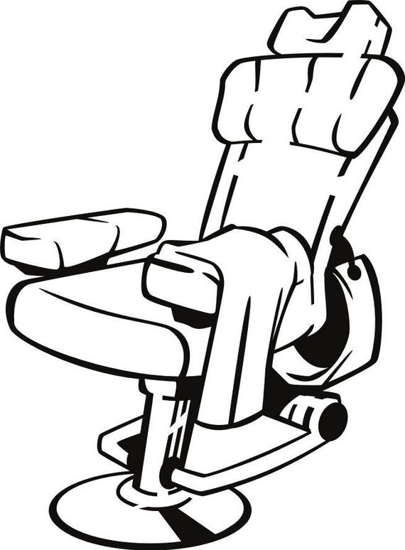 BARBER CHAIR SVG