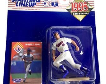 MLB Starting Lineup SLU Moises Alou Action Figure Montreal Expos 1995 Kenner