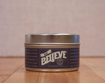 We Believe Soy Travel Candle