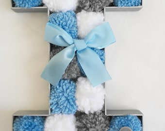 Made to Order Free Standing Pompom Letter/ Nursery Decor
