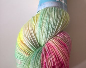 Beach Feet base - Superwash Bluefaced Leicester (BFL) nylon sock yarn