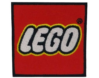 LEGO Embroidery iron sew on Patch Badge