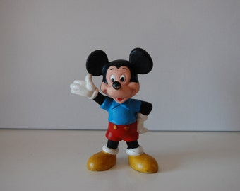 Mickey Mouse Walt Disney Productions squeaky toy