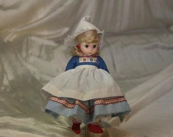 Madame Alexander Porcelain Doll Of The Netherlands