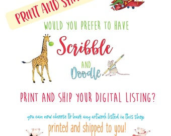 print and ship service,  heavyweight acid free matte paper, archival inks, Epson Sure Color P800 printer,