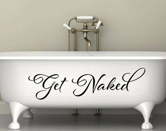 More Colors. Get Naked Wall Decal ...