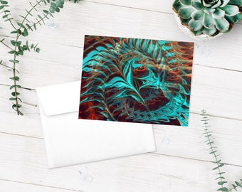 Blank cards, photographic art, note cards, abstract art, abstract photography, gift set, thank you cards, journaling cards, teacher gift