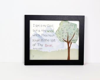 Tiny Seed Quote | Print