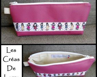 Kit school girl GORJUSSS Pink Purple leatherette
