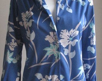 70s vintage butterfly shirt