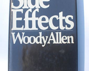 Side Effects Woody Allen first edition vintage humor comedy book 1980