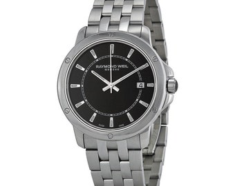 Raymond Weil Tango Black Dial Men's Chronograph Watch