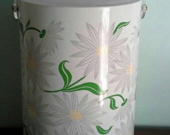 Mid Century Daisy Ice Bucket by Stotter