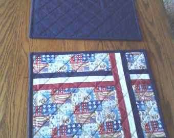 Patriotic Table Placemats Set of 6