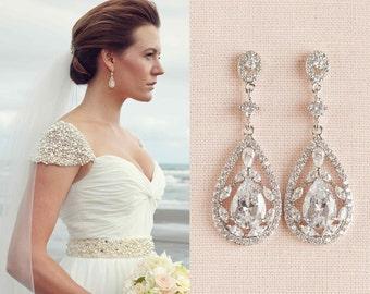 Bridal earrings Etsy