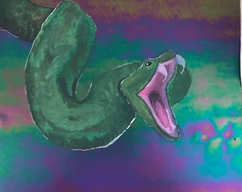 Green viper