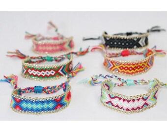 Hand Knitted Bracelet BOHO