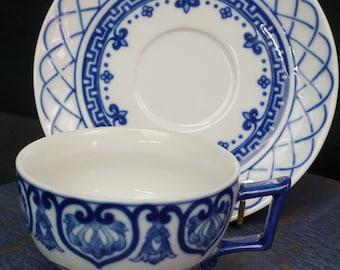 Teacups Sets, 4, Bombay China