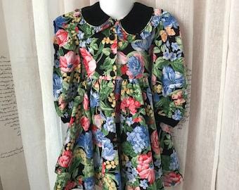 Plum Pudding Girl's Dress, 3T