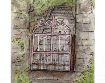 Pink Eureka Gate