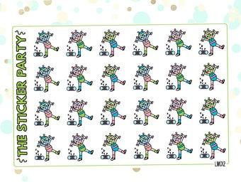 Lumi Workout Planner Stickers