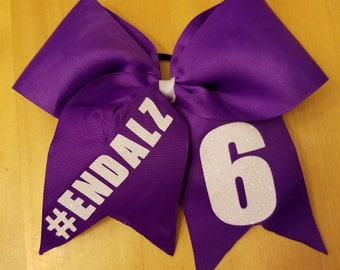 Awareness Bow /Cheer Bow / Softball Bow / Soccer Bow / Volleyball Bow