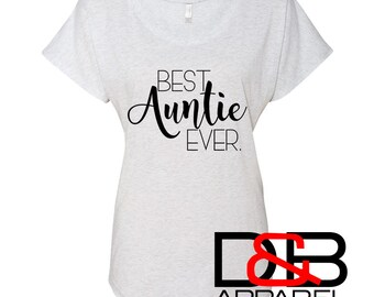 Best Auntie Ever Dolman |  Aunt shirt | I'm pregnant shirt | Pregnancy announcement | Best Aunt Ever | Best Aunt Gift | Future Aunt | BAE