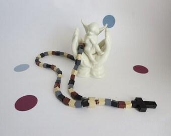 Catholic Rosary made of Lego® Bricks - Camouflage Lego® Bricks Rosary - Boy First Communion Gift