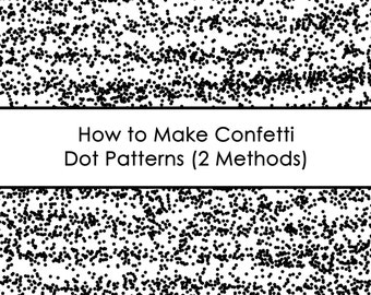 How to make confetti patterns in photoshop ecourse AllAboutTheHouse how to make paper overlays to use for printables fabric home decor etc.