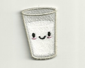 Smiling Milk Patch! Custom Made!