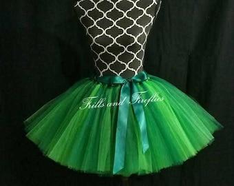 Green Tutu/Tulle Skirt/Costume/Festival Clothing/Halloween/Dance/Tulle Skirt Women/Tutu Skirt/Dance/Ballet Skirt/Bridal Skirt/Birthday Gift