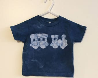 Toddler Train Shirt, Kids Train Shirt, Boys Train Shirt, Girls Train Shirt, Train Birthday Shirt, Blue Train Shirt (18 months)