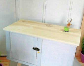Sideboard Lounge Entrance Auxiliary room, Nordic style table author, light grey TV cabinet Yellow Point
