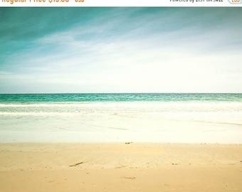 ON SALE nautical decor beach photography ocean 8x10 8x12 fine art photography pastel coastal prints seaside photography vintage look beach w