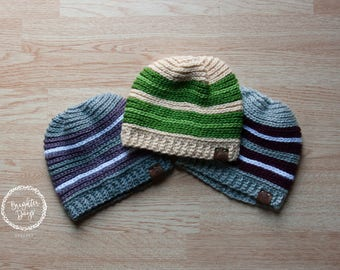 Brighter Days Striped Beanie - 3 Colors!