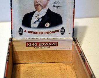 Vintage Cigar Box King Edward Specials